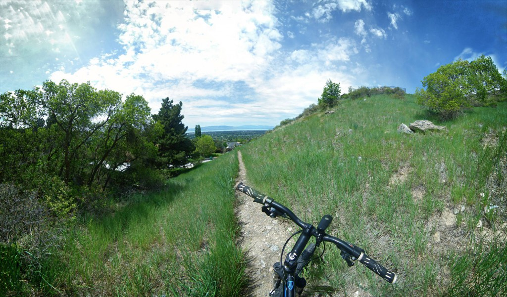 Biking little rock canyon