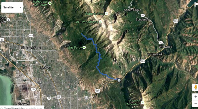 Little Baldy to Battle Creek Canyon